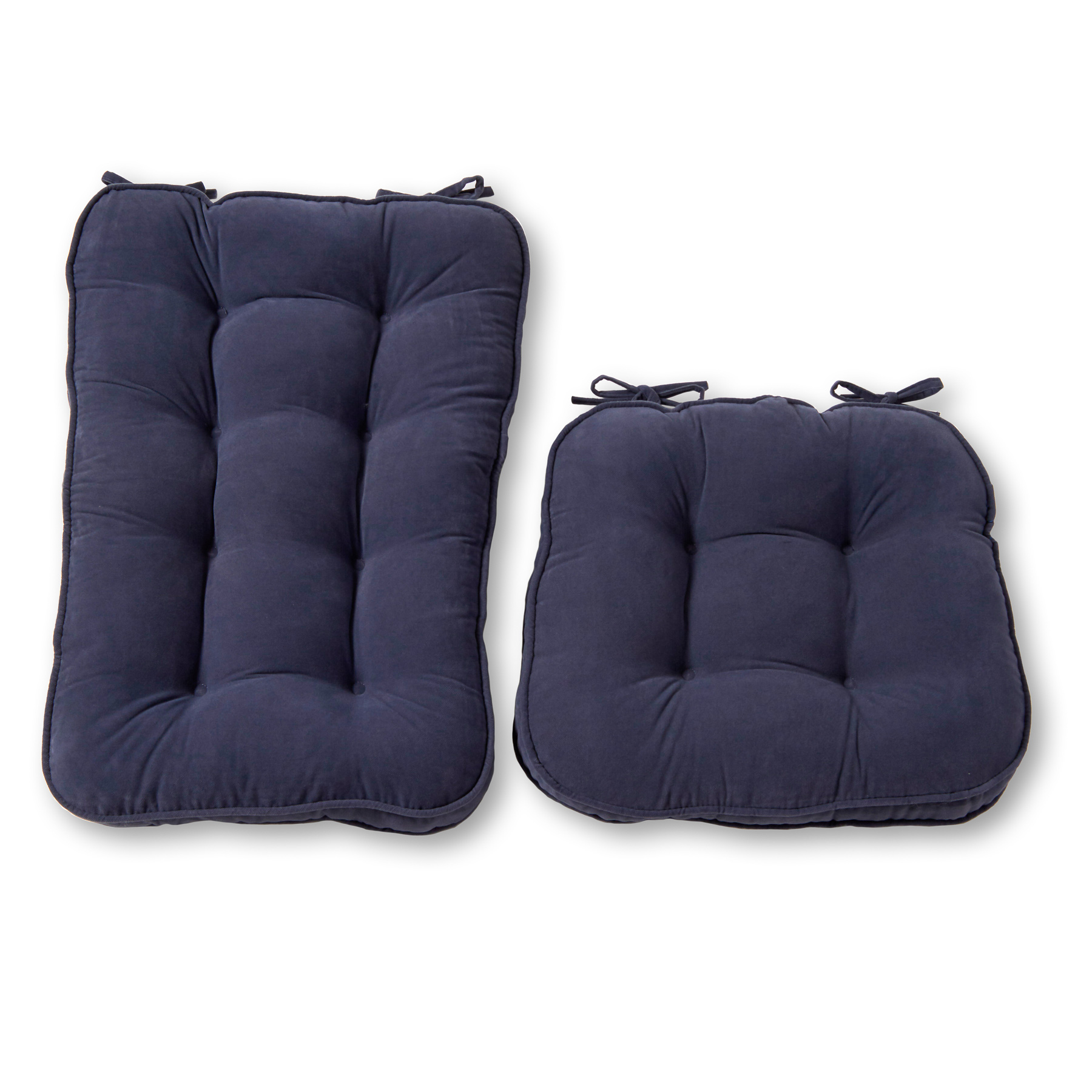 Hyatt Jumbo 2 Piece Rocking Chair Cushion Set Walmart Com Walmart Com