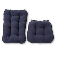 Hyatt Jumbo 2-Piece Rocking Chair Cushion Set
