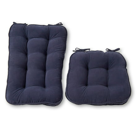 Hyatt Jumbo 2-Piece Rocking Chair Cushion Set