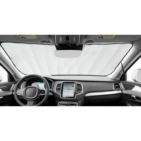 Sedan Navigation (Sunshade for Lincoln MKS Sedan w/Navigation 2009 2010 2011 2012 2013 2014 2015 2016 2017 Custom Fit Windshield Sunshade )