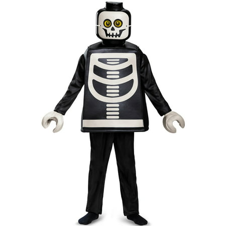 Boys Skeleton Deluxe Costume - Skeleton Boy Costume