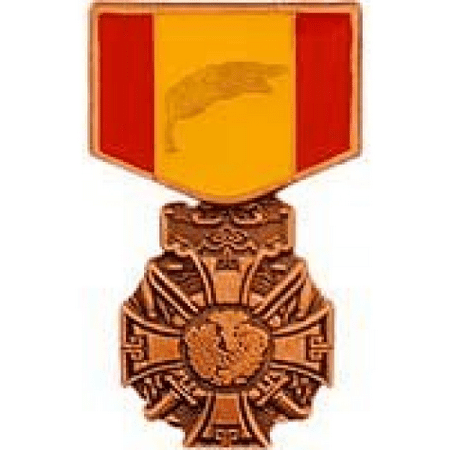 United States Armed Forces Mini Award Medal Pin - Vietnam Cross of Gallantry Medal