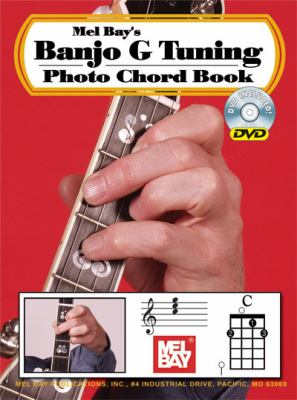 Banjo G Tuning Photo Chord Book by William Bay 20297DP by
