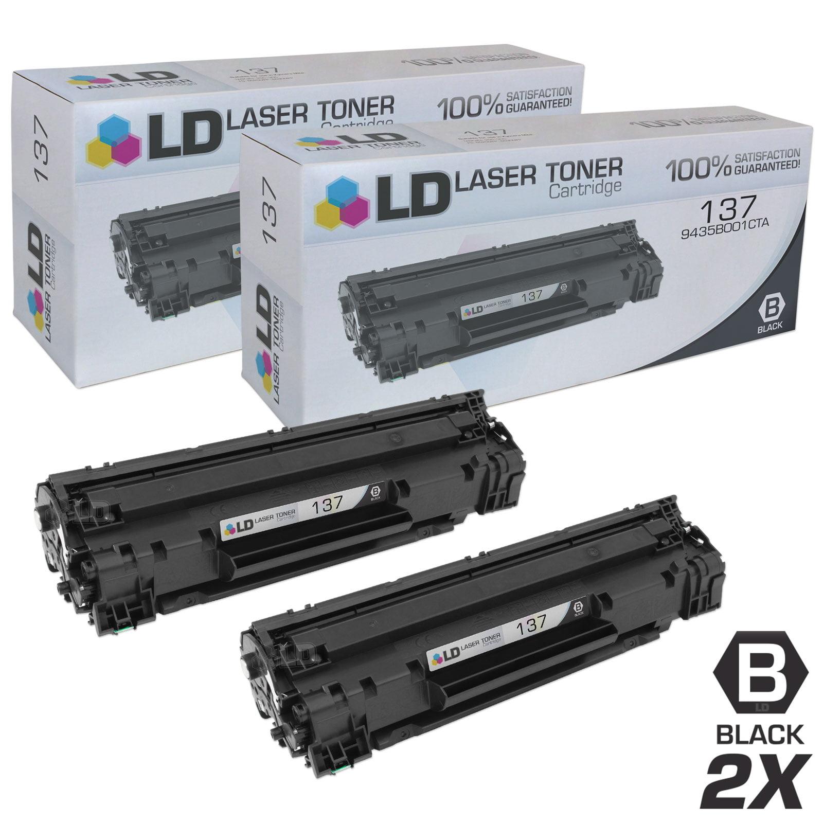 10 PK CRG137 Toner 9435B001 Black for Canon 137 ImageClass MF212w MF216n Printer