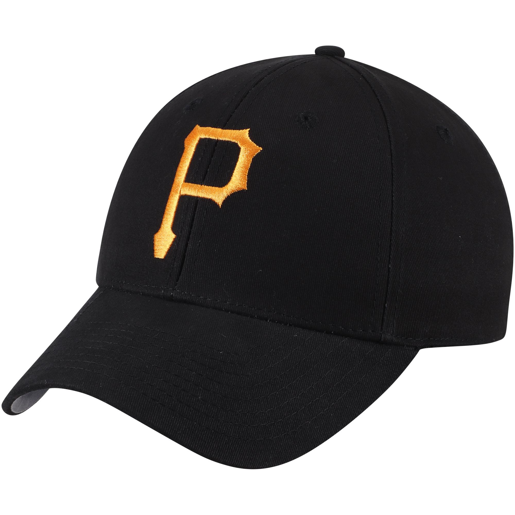 Fan Favorite Pittsburgh Pirates '47 Basic Adjustable Hat - Black - OSFA