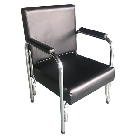 Spa Shared Equipment - Zimtown Portable Recline Shampoo Barber Chair, for SPA Beauty Salon Hair Styling, Barber Shop Haircutting Hairdressing Equipment (Black)