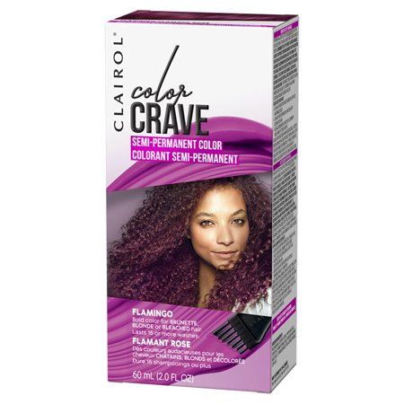 Clairol Color Crave Semi Permanent Hair Color Flamingo 2 Fl Oz