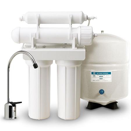 PENTEK 161079) 4-Stage RO-2550 Reverse Osmosis System 50 GPD
