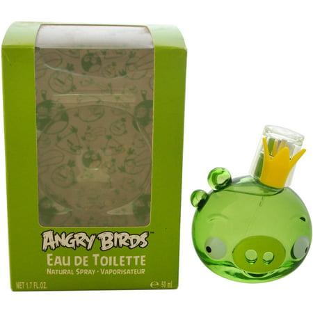 Image of Air-Val International Angry Birds King Pig EDT Spray, 1.7 fl oz