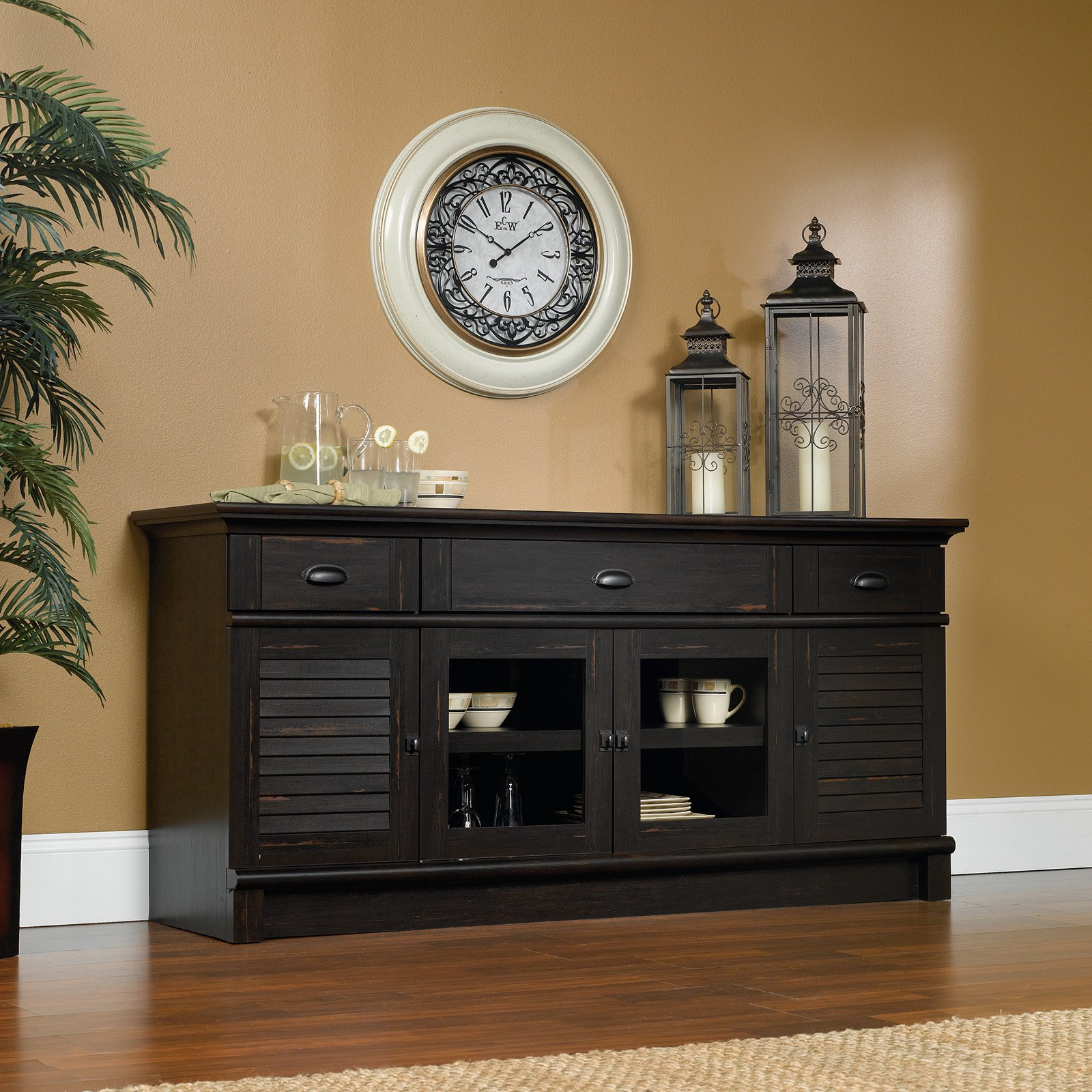 Sauder Harbor View Credenza/TV Stand