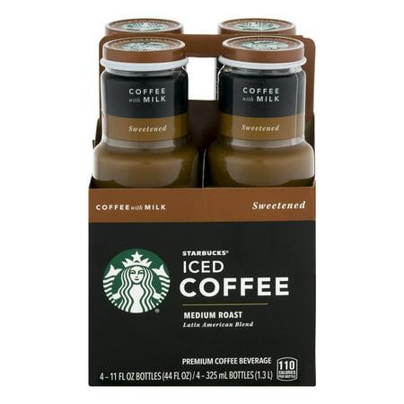 Starbucks® Medium Roast Iced Coffee Sweetened with Milk 4 ...