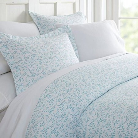 Simply Soft 3 Piece Burst of Vines Print Duvet Cover Set