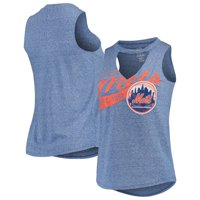 New York Mets Concepts Sport Women's Squad Keyhole Tank Top - Royal