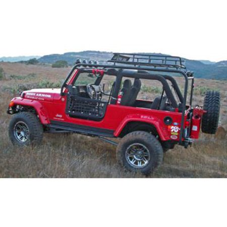 Body Armor 4x4 Roof Rack Base TJ-6124 Roof Rack