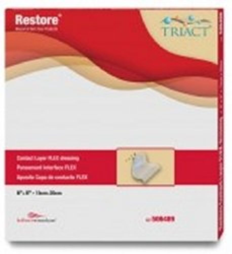 Hollister Non-Adherent Dressing Restore Contact Layer Fle...
