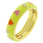 Sunrise Wholesale J2607 Multi Color Hearts Ring - Size 10