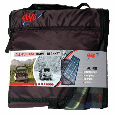 4014 All Purpose Travel Blanket  Comes Folded And Snapped For Easy Storage By Aaa