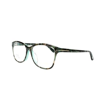 Tom Ford FT5404-F-56A Optics Unisex Eyeglasses Blue Brown Mix (Tom Ford Eyeglasses Sale)