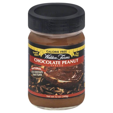 Walden Farms Calorie Free Peanut Spread, Chocolate, 12
