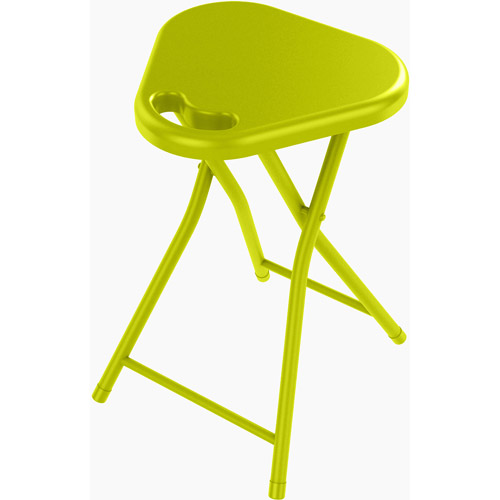 Atlantic Folding Stool With Handle Set Of 4 Walmart Com
