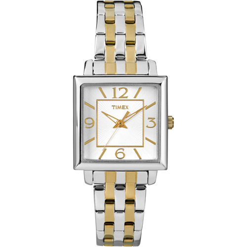 Timex Women's Elevated Classics Silver Analog Watch T2P376 by Timex