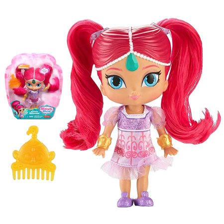 Bedtime Shimmer with Pigtails Shimmer and Shine Doll 5.5
