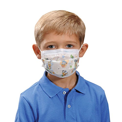 Halyard Health Child's Face Mask, 75ct-cs of 10(FORMERLY ...