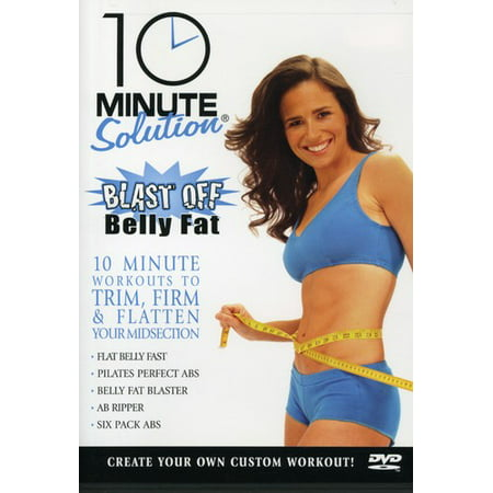 10 Minute Solution: Blast Off (DVD) (Best Way To Burn Belly Fat Without Exercise)