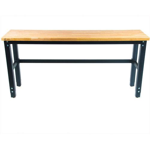 Trinity 72 Wide Height Adjustable Wood Workbench