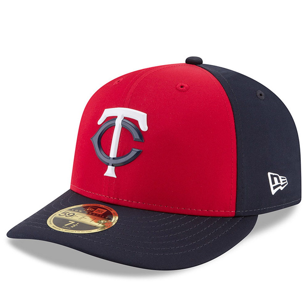 Minnesota Twins New Era 2018 On-Field Prolight Batting Practice Low Profile 59FIFTY Fitted Hat - Red