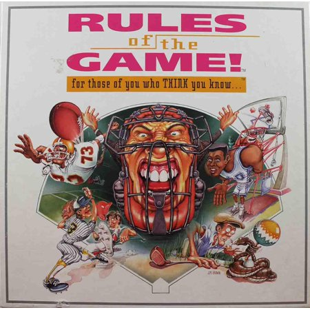 Rules of the Game! Great Condition (Halloween Safety Rules Game)