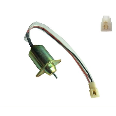 NEW DIESEL Fuel Shut Off Solenoid Fits Yanmar engine Takeuchi SA-4562T M806808 ()