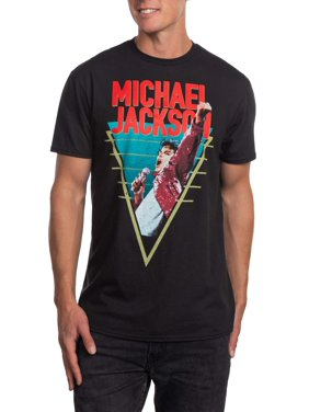 ca5785b6b Product Image Michael Jackson Men's Performance Short Sleeve Graphic T-Shirt,  up to size 3XL