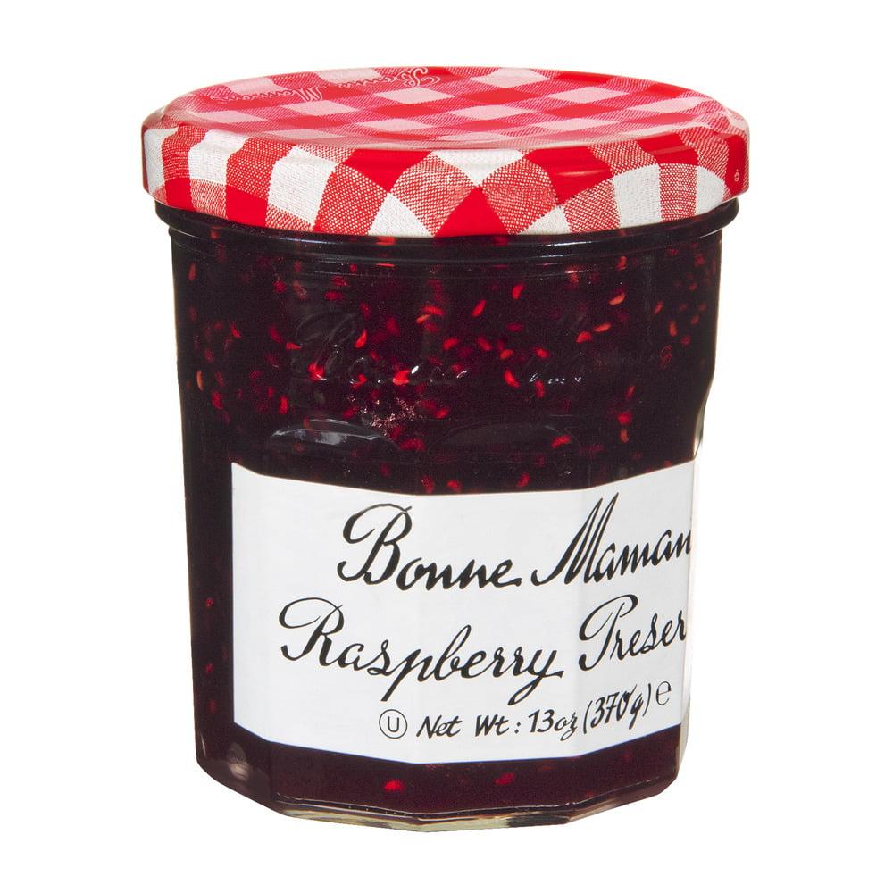 Bonne Maman Raspberry Preserves, 13.0 OZ by American Marketing Team