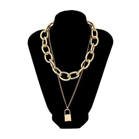 Fancyleo Bohemian Golden Multilayer Necklace 2019 Retro Layered Handmade Woman Choker Collar Necklace Jewelry
