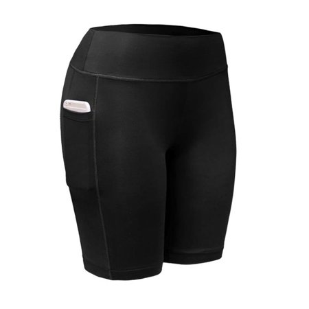 Women Sports Compression Shorts Athletic Fitness Yoga (Teen Compression Short)
