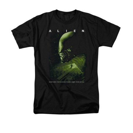 Alien Men's Lurk T-shirt Medium Black (Aliens From Men In Black)