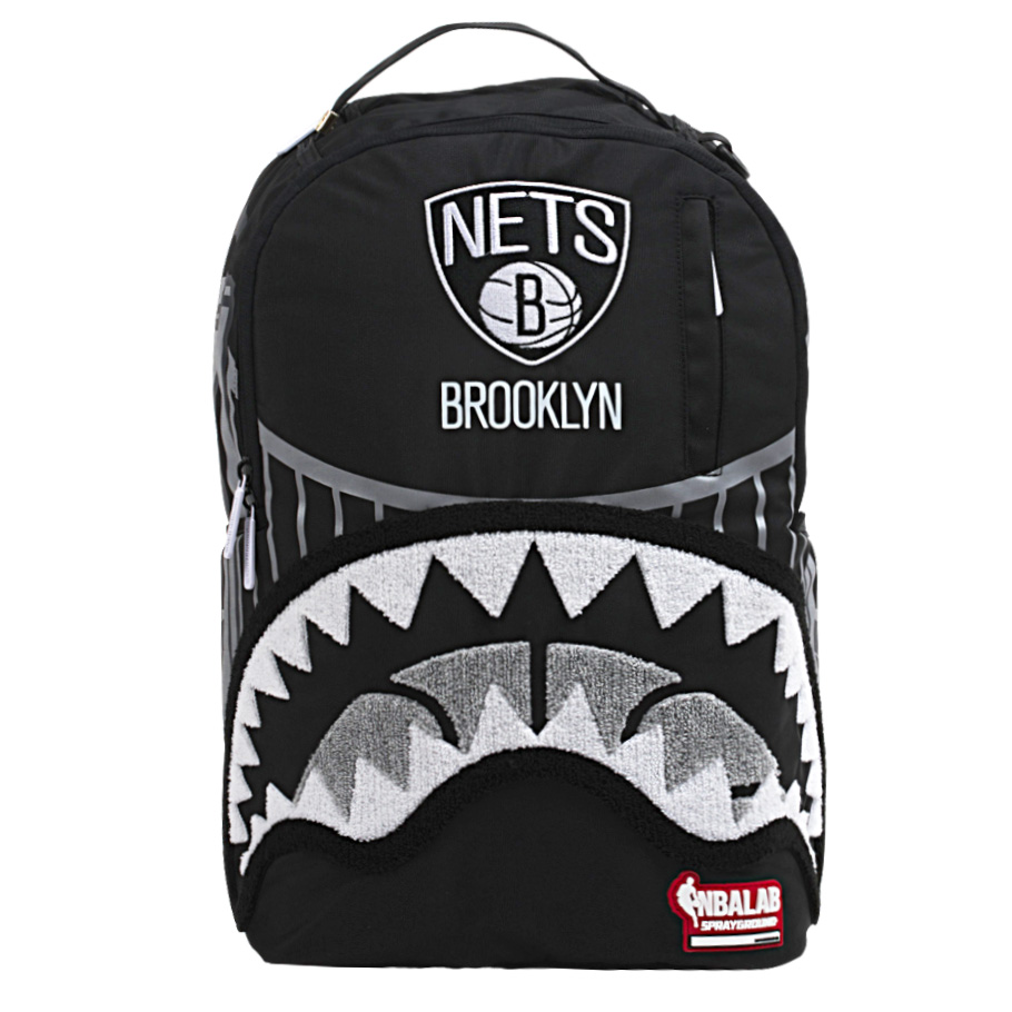 Brooklyn Nets Sprayground Brooklyn Bridge Backpack - No Size