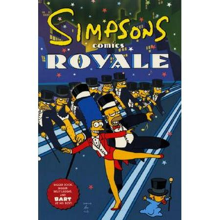 Simpsons Comics Royale : A Super-Sized Simpson Soiree - Soiree Halloween Idee