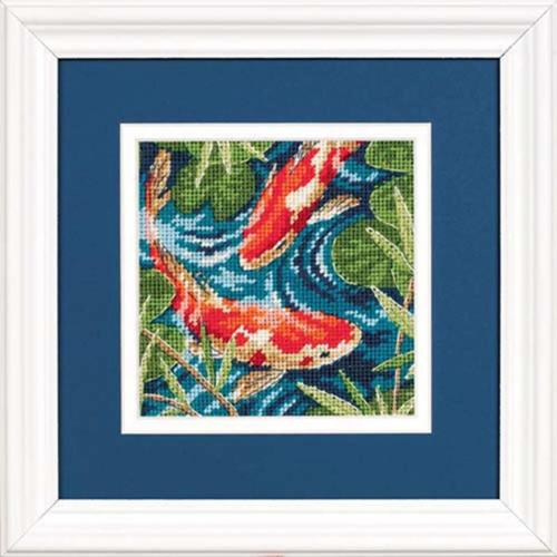 Dimensions Koi Pond Needlepoint Kit