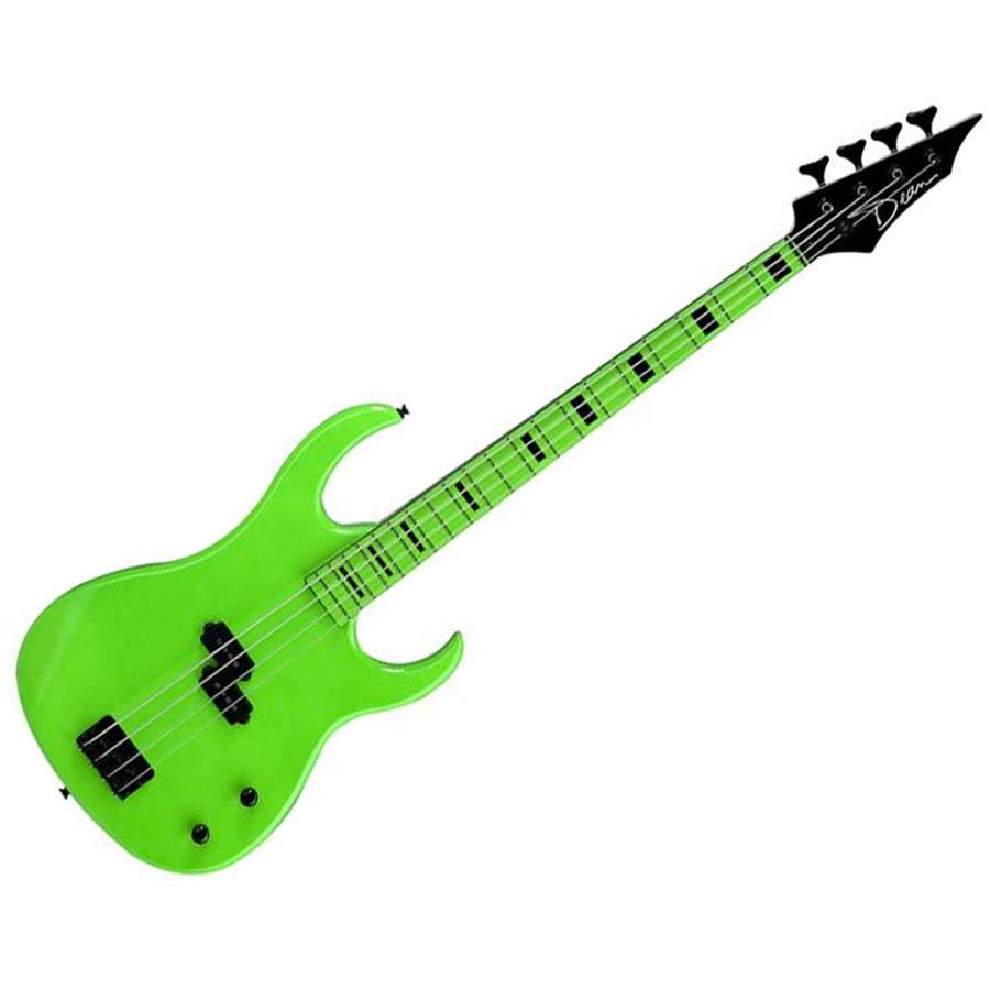 Dean Custom Zone Electric Bass Guitar Nuclear Green by Dean