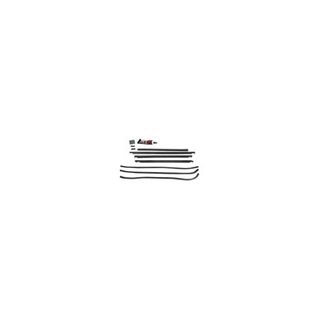 MACs Auto Parts  32-25969 Window Channel Kit - Rear Doors & Quarter Windows - Ford Fordor Sedan ()