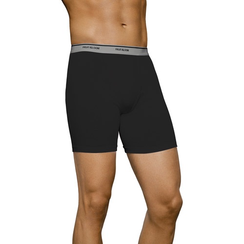 Fruit of the Loom - Men's Assorted Boxer Briefs, 4-Pack