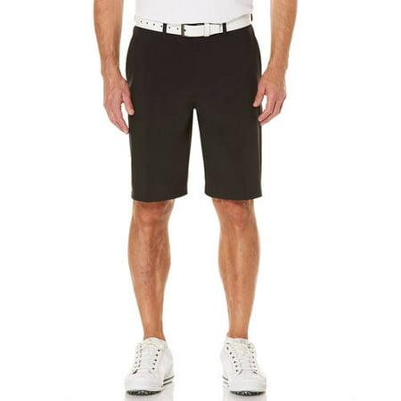 (Big Men's Performance Flat Front Active Flex Waistband Four Way Stretch Golf Short)