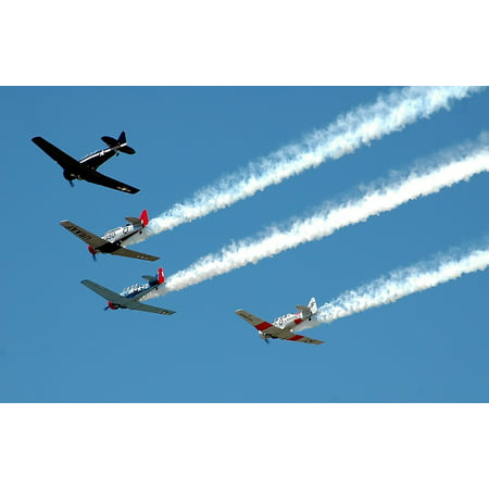 - LAMINATED POSTER Vintage Event Airshow Aircraft Airplanes Poster Print 24 x 36