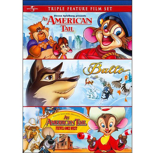 An American Tail / Balto / An American Tail: Fievel Goes West (Full Frame)