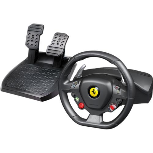 Thrustmaster Ferrari 458 Italia Gaming Steering Wheel - Cable - USBXbox 360, PC - 9.84 ft Cable