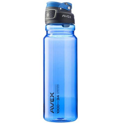 3fd601d5e3 AVEX FreeFlow Autoseal Water Bottle, 34oz – Ideal for Outdoor Lifestyles,  Travel, Gym – BPA-Free Tritan w/ Bolted Folding Handle & Spout Cover, Ice  Mint ...