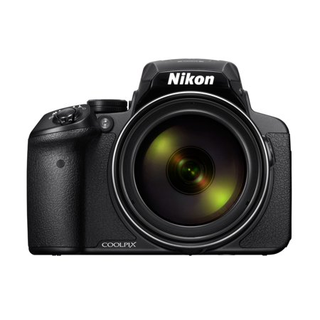 Nikon Silver COOLPIX P900 Digital Camera with 16 Megapixels and 83x Optical Zoom (Cannon 16 Mp Camera)