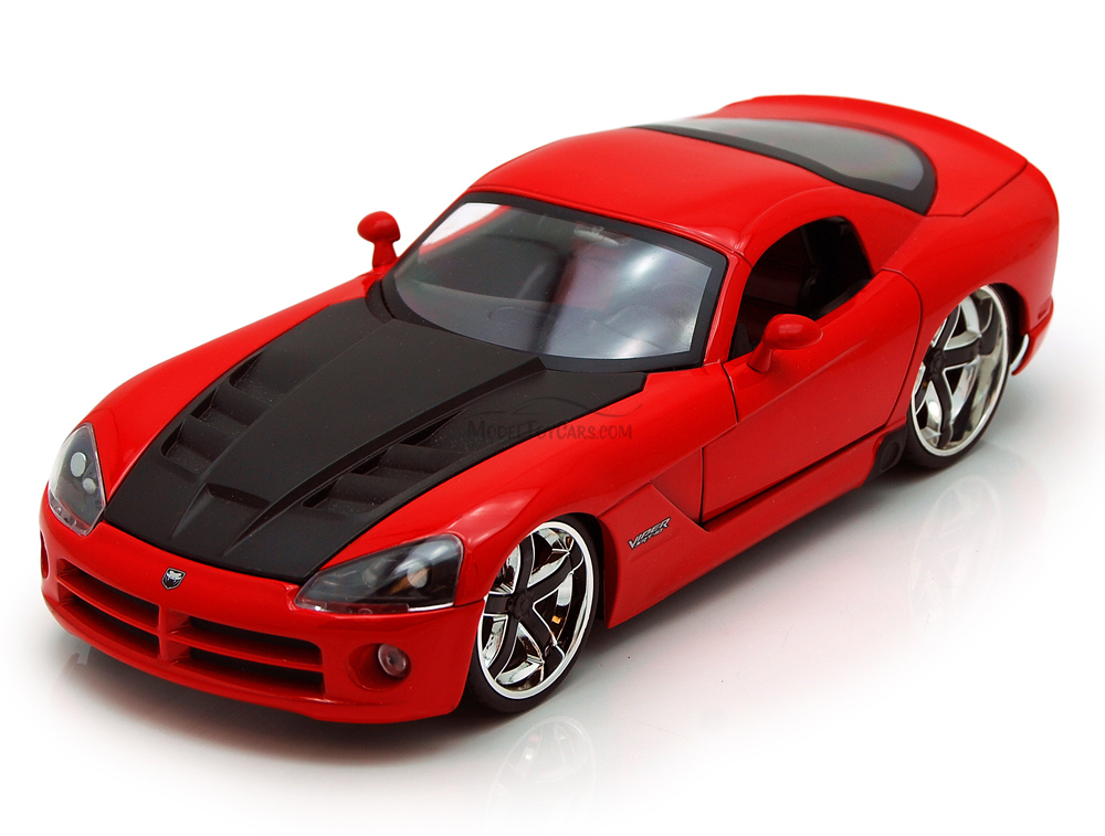 Dodge Viper SRT10, Red Jada Toys Bigtime Muscle 91804 1 24 scale Diecast Model Toy Car... by Jada
